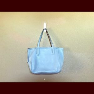 Fossil Light Blue Medium Tote Bag
